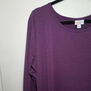 Lularoe Debbie Long Sleeve Dress- 2XL